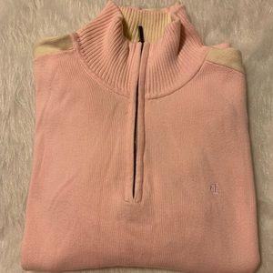 Women's Ralph Lauren 3/4 Zip Sweater